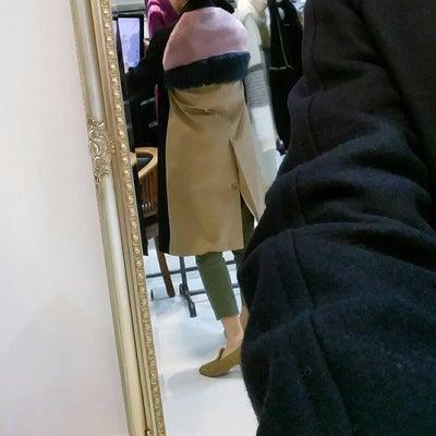 SWANLAKE.aw/後ろfarcoat!! かわいの記事に添付されている画像
