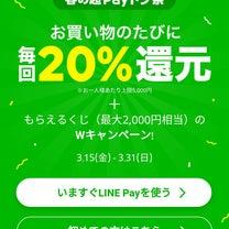 LINE:pay:無駄遣いはしないよ。の記事に添付されている画像