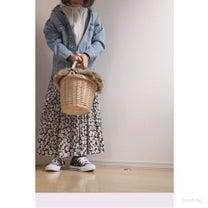 しまむらの花柄スカート、ヘビロテ中♡の記事に添付されている画像