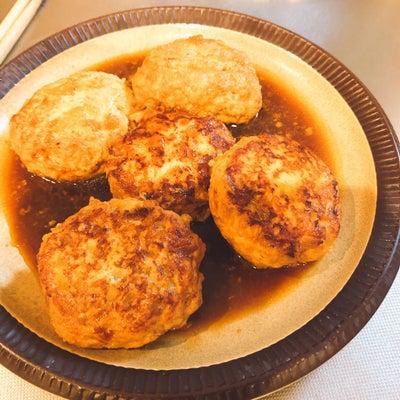 豆腐入り照り焼きチキンハンバーグの記事に添付されている画像