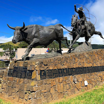 ハワイで一枚(ワイメアのカウボーイ像)の記事に添付されている画像
