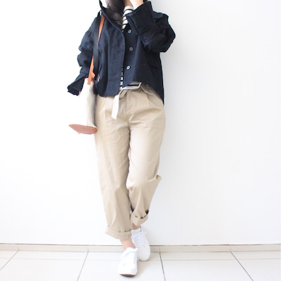 【ジャケットは袖がポイント♪】春のカジュアルパンツコーデ♡の記事に添付されている画像