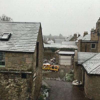 スコットランド初雪の記事に添付されている画像
