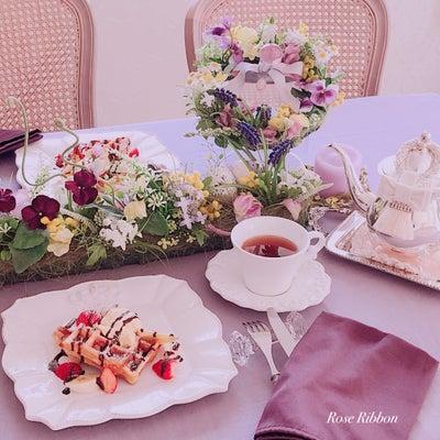 素敵なインテリア&テーブルでティータイム♡の記事に添付されている画像