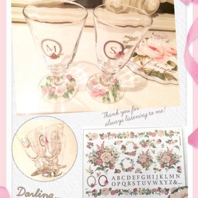 ポーセラーツ教室ガラス転写紙での制作の記事に添付されている画像