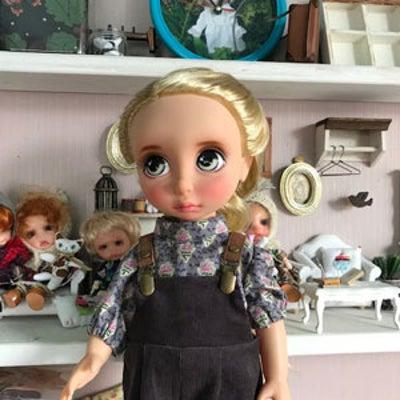 ドールの洋服&雑貨置き場になっていた小屋☆の記事に添付されている画像