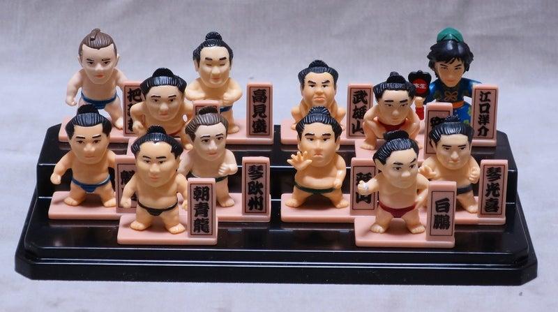 12年前の大相撲力士フィギュア | クニちゃんの我楽多堂