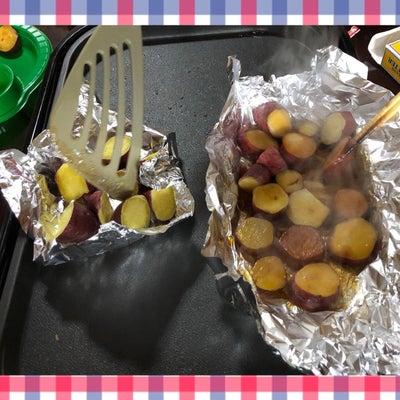 お芋パーティの記事に添付されている画像