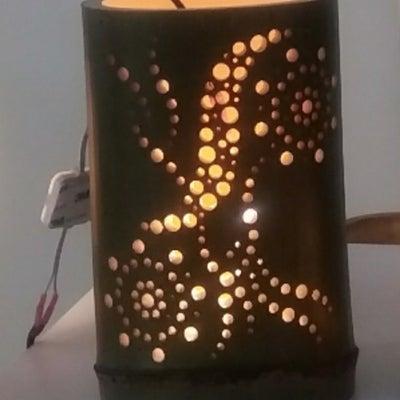 竹灯りづくりWSの記事に添付されている画像