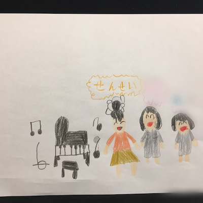 生徒ちゃんのピアノ購入の記事に添付されている画像