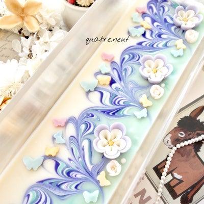 蝶々ひらり•*¨*•.¸¸♬桑白皮とユキノシタの石鹸の記事に添付されている画像