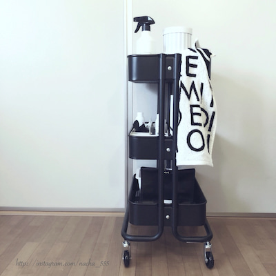 購入して大正解だった!IKEAの家中で大活躍するワゴンの記事に添付されている画像