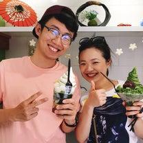 ハワイの「抹茶スタンド舞妓」今日のお客様♡の記事に添付されている画像