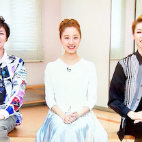 豪華なゆきちゃんの『Sen-se』/りょうちゃんと美弥ちゃん、素足のダンス。の記事に添付されている画像