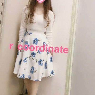 リラのブルーフラワースカートのちょっと失敗コーデ ♡の記事に添付されている画像
