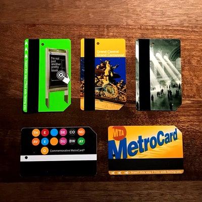 ニューヨークのメトロカードの謎に迫る❗️の記事に添付されている画像
