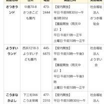 和歌山市地域子育て支援拠点施設 和歌山市子育てサークル サンマザーの記事に添付されている画像