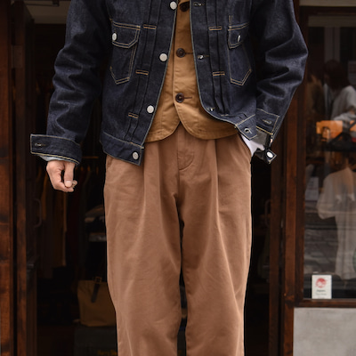 RICCARD METHA 1TUCK WIDE TROUSERS DRAGONの記事に添付されている画像