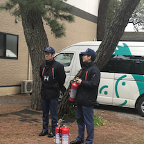 避難訓練*空手 息吹の會の記事に添付されている画像