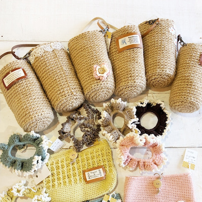 新着!capriceさんの手編みの春夏コレクション!の記事に添付されている画像