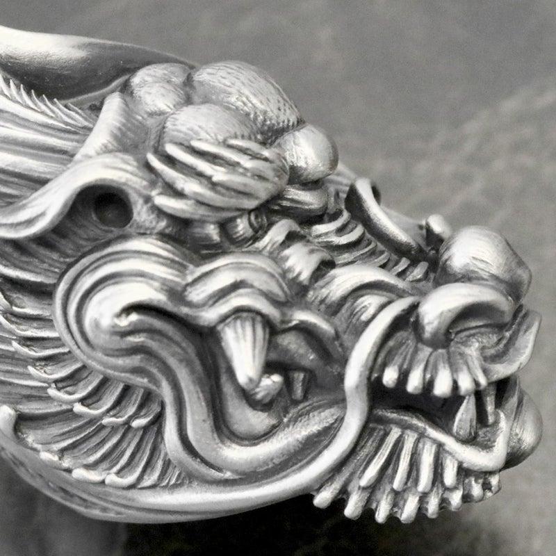 dualflow デュアルフロウ 竜 龍 リング ドラゴン シルバーギークス