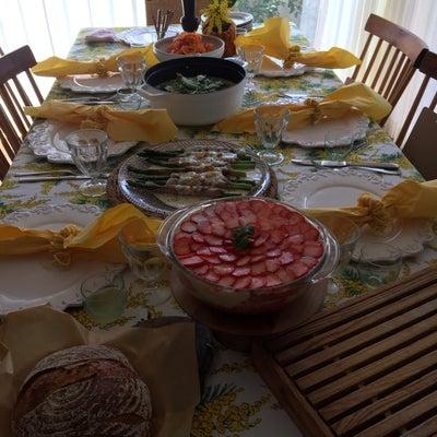 今日はイタリア料理教室へ・・・ミモザの花と春を感じさせるイタリアンを作ったよ~♪の記事に添付されている画像
