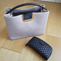 しまむらバッグとミニポーチ用のお財布の記事に添付されている画像
