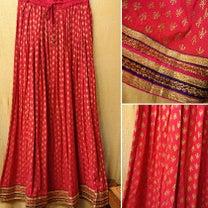 キラキラ☆Indiaロングスカートの記事に添付されている画像