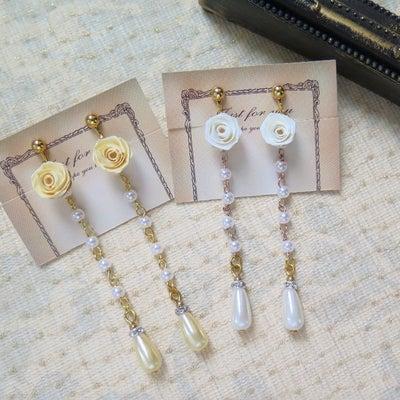 青森ロザフィ春の新作はイイオンナになれる華奢で縦長な耳飾り✩*゜の記事に添付されている画像