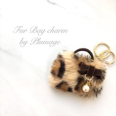 ◇生徒様の作品◇Fur Bag charm by Plumage◇の記事に添付されている画像