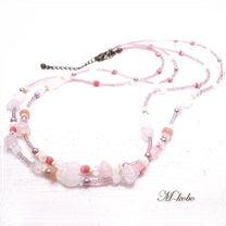 春を呼ぶネックレス【ピンク】の記事に添付されている画像