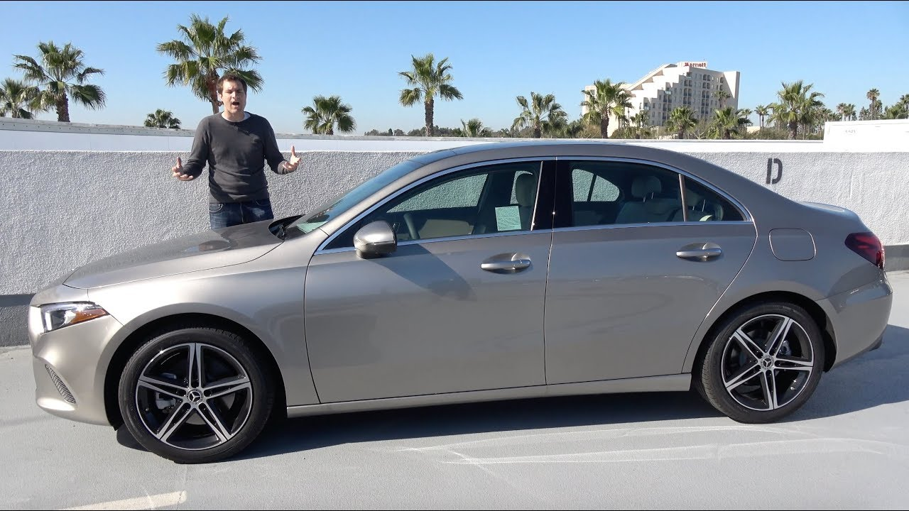 Mercedes Benz A Class >> The 2019 Mercedes A Class Is The Cheapest New Mercedes Benz Youtube