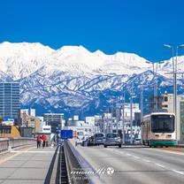 純白の立山連峰の記事に添付されている画像