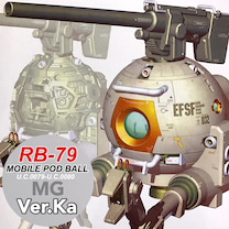 MG ボール Ver.Kaの汚し作成開始!の記事に添付されている画像