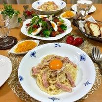 カルボナーラ♪と梅まつり&蕎麦ランチ。の記事に添付されている画像
