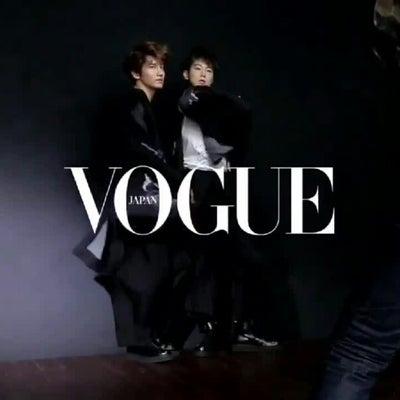 VOGUE 2019年4月号 撮影メイキング動画の記事に添付されている画像
