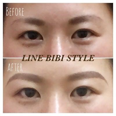 ♡眉尻が合うとお顔の顔幅が変わります♡の記事に添付されている画像