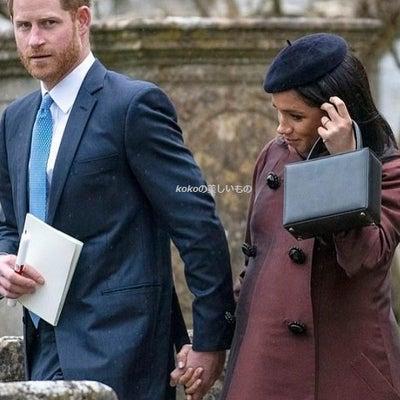 英国王室メーガン妃 2019年3月16日 産休中にザラ・ティンダルの娘の洗礼式出の記事に添付されている画像