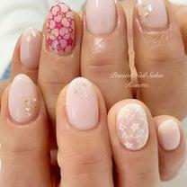 桜ネイル♡の記事に添付されている画像