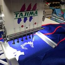 青いユニフォームに…小さくても熱い!ファン愛を刺繍★その③の記事に添付されている画像