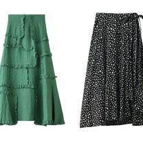 プリントアシメスカート、リネンスカートなど、スカートのおすすめ!人気、春夏ファッの記事に添付されている画像