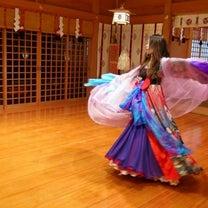 舞の奉納の記事に添付されている画像