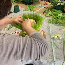パリスタイルのお花 体験レッスンの記事に添付されている画像