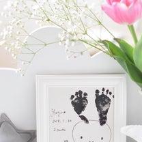 小さなあんよ♡ミッフィーちゃんな足型ポーセラーツの記事に添付されている画像