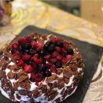バースデーケーキ作成の記事に添付されている画像
