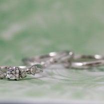上品かつ個性的✧˖°手元を可憐に彩る植物モチーフの婚約&結婚指輪♡*【AFFLUの記事に添付されている画像