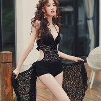 【2019年新作】セクシーさ溢れる♡レースモノキニの記事に添付されている画像