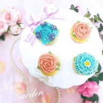 娘が感動してくれました。(*´꒳`*)♡あんフラワーカップケーキ体験レッスンレポの記事に添付されている画像