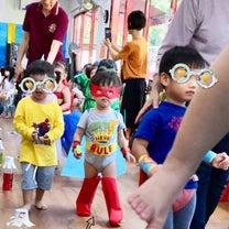 シンガポール幼稚園 スーパーヒーロー集まる!の記事に添付されている画像