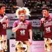 バスケが上手い芸人…麒麟・田村、大西ライオン、あさいタワーが、山形ワイヴァンズにやって来た!
